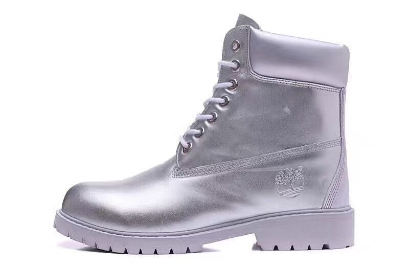 1452affccfa Timberland Authentic Mens 6 Inch Boots-All Silver