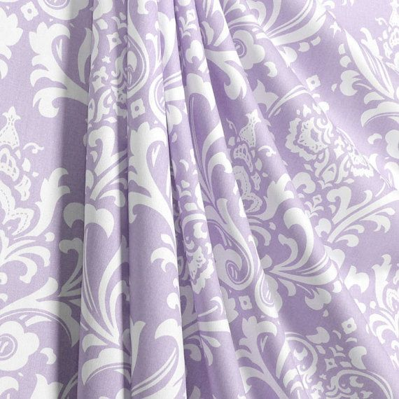 Fabric Shower Curtain Custom Ozborne Twill Wisteria By HomeandHome