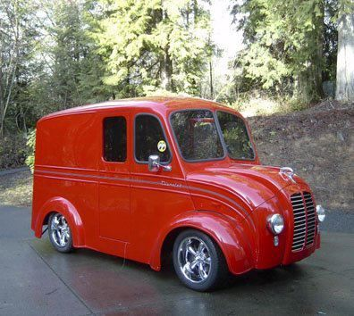 (10Divco's and other cool Delivery vans