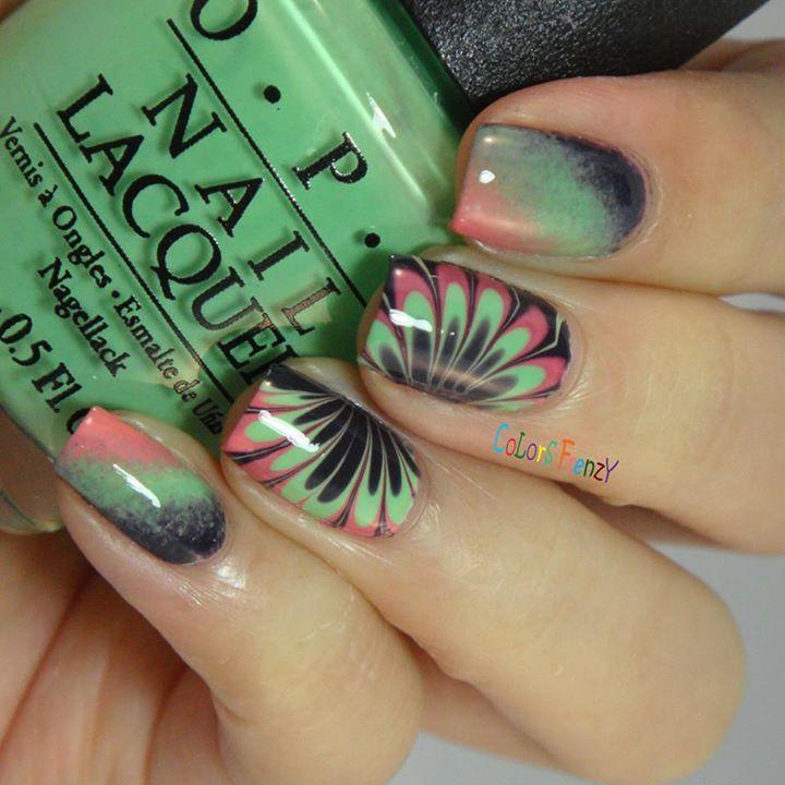 ColorsFrenzy nails   Uñas Acrílicas   Pinterest   Uñas acrílico