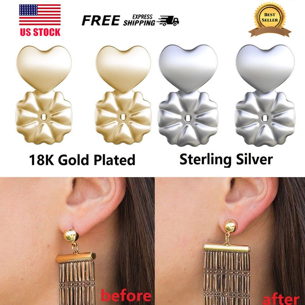 MagicBax Earring Backs Hypoallergenic Fit All Post