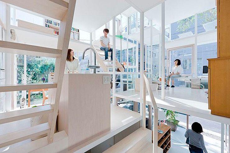 Obra: Casa NA Arquitecto: Sou Fujimoto Ubicación: Tokio, Japón. Superficie: 86 m2 Año: 2010 Fotografías: Iwan Baan