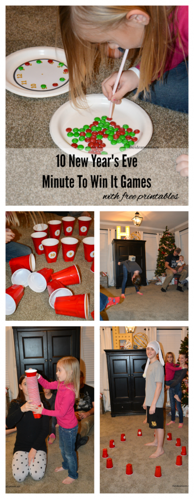 New Year's Eve Minute To Win It Games New years eve