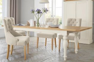 Buy Shaftesbury 6 8 Seater Painted Extending Dining Table From The Next UK Online Shop