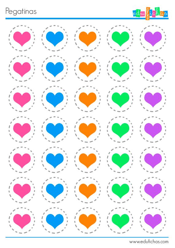 Pegatinas para imprimir utiliza estas pegatinas en las for Pegatinas decorativas infantiles