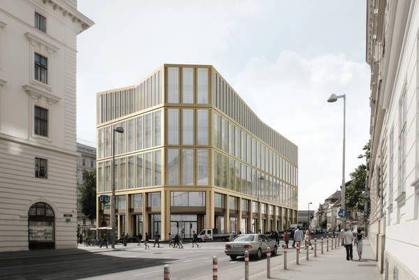 Wettbewerb rathausstra e 1 wien 1 preis stadler prenn architekten berlin schuberth und - Stadler architekten ...