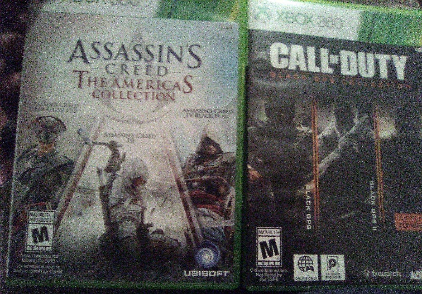 Call Of Duty 1 2 3 Assassin S Creed The Americas Collection