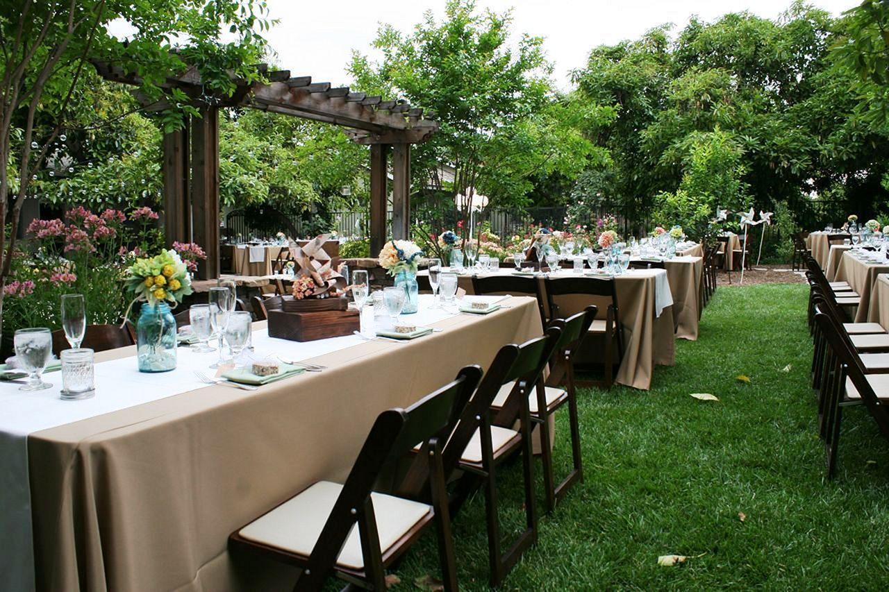15+ Modern Backyard Wedding Reception Design And Decor ...