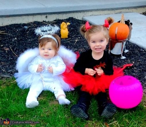 Danielle: I wanted coordinating sibling costumes for our first Halloween with two kiddos, one being 8 months old and one being 2 1/2. On a typical day of dealing with terrible...