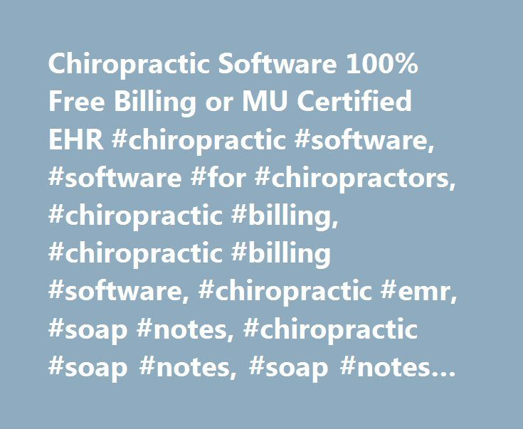 Chiropractic Software 100 Free Billing or MU Certified EHR - release notes template