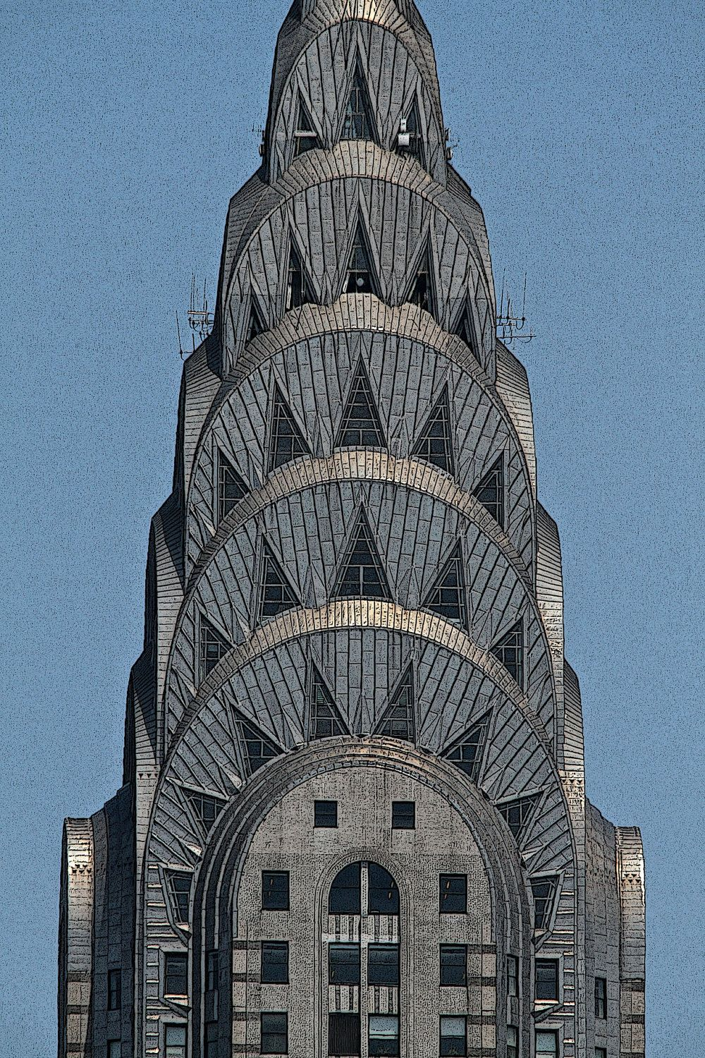 Chrysler Building Manhattan New York City Photograph Urban Art