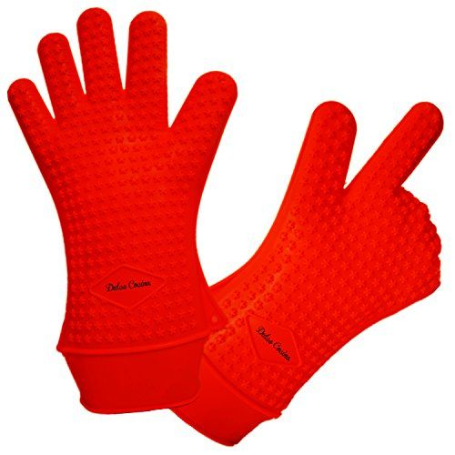 Xl Xxl Red Silicone Gloves Best Oven Mitts Gloves Don T Burn