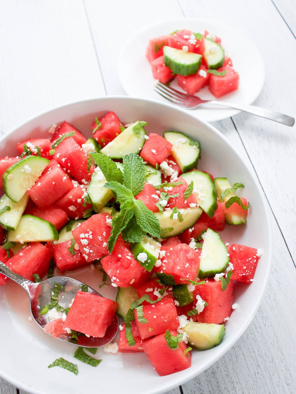 Strawberry, Cucumber and Melon Salad Recipe   Food Network Kitchen   Food Network