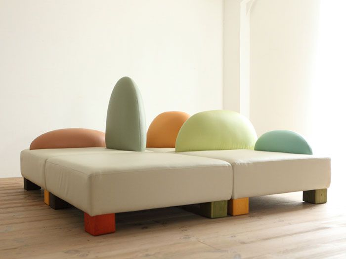 Exceptional Ecological And Funny Furniture For Kids Bedroom By Hiromatsu | DigsDigs Idea