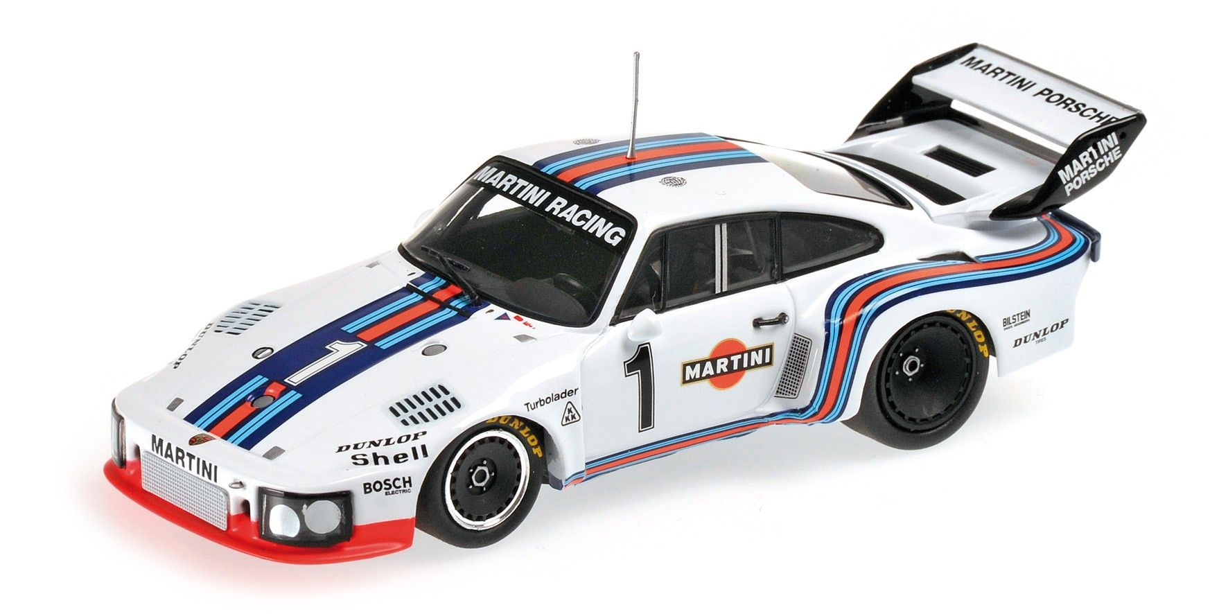 Porsche 935 Martini Racing Ickx Mass Winner Dijon 6 Hours 1976