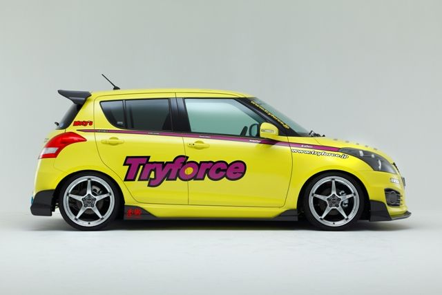 Tryforce Rear Wing Spoiler スイフトスポーツ スポーツ