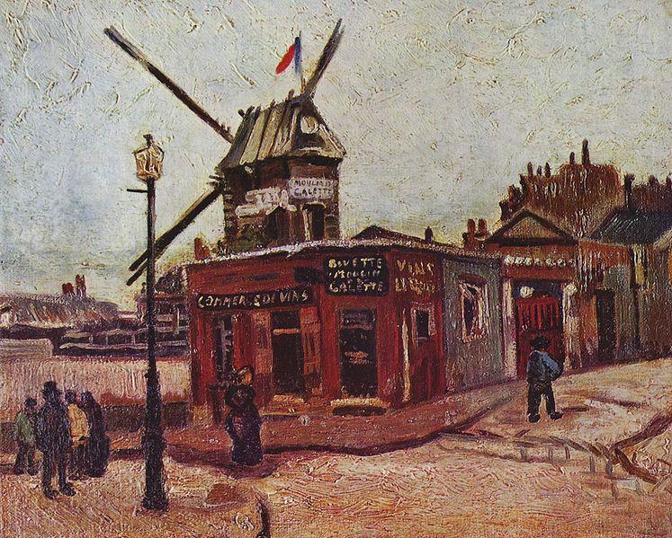 Le Moulin de La Galette - Vincent Van Gogh