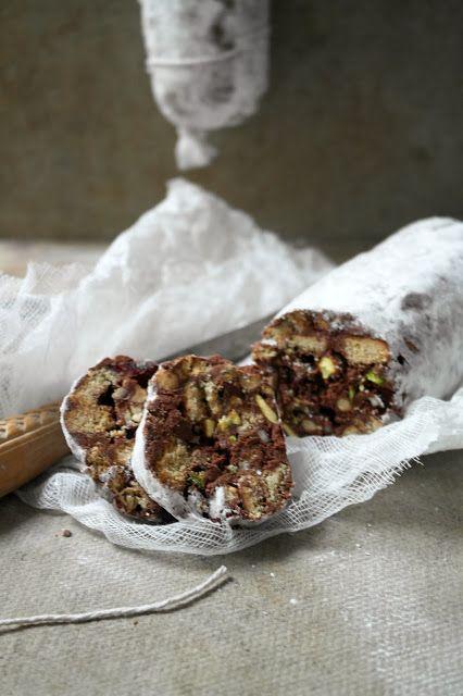 Twigg Studios Chocolate Salami Italian Fruit And Nut Slice