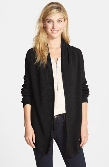 Vince+Camuto+Open+Front+Cardigan+(Petite)+available+at+#Nordstrom