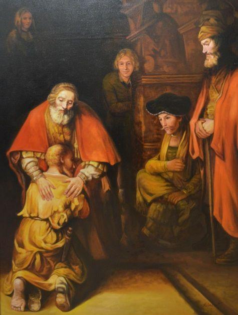 rembrandt - de verloren zoon | bijbel - de verloren zoon in 2019