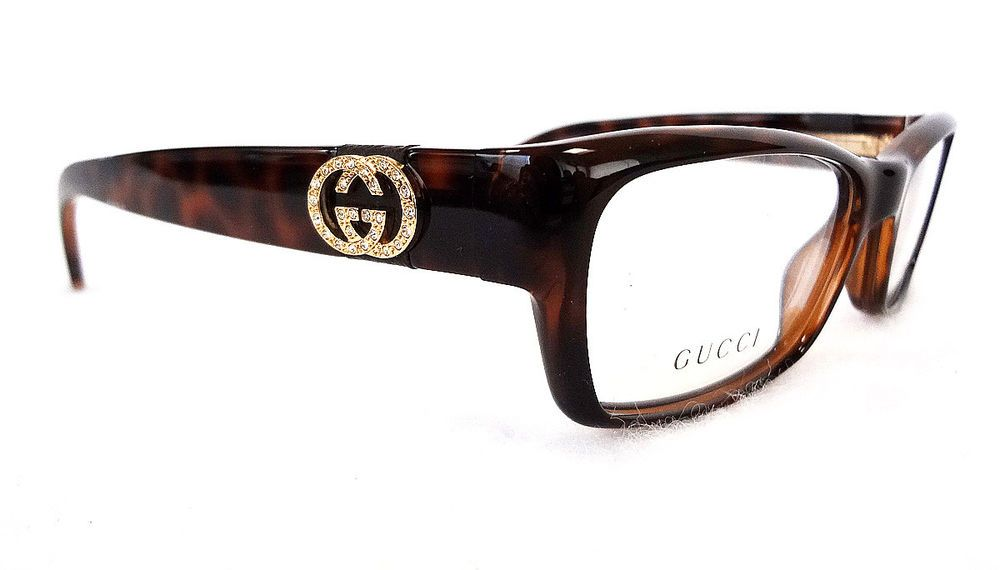e242ec2a0c1 GUCCI Women s Frame Glasses GG3773 U Optyl Havana MADE IN ITALY - New!