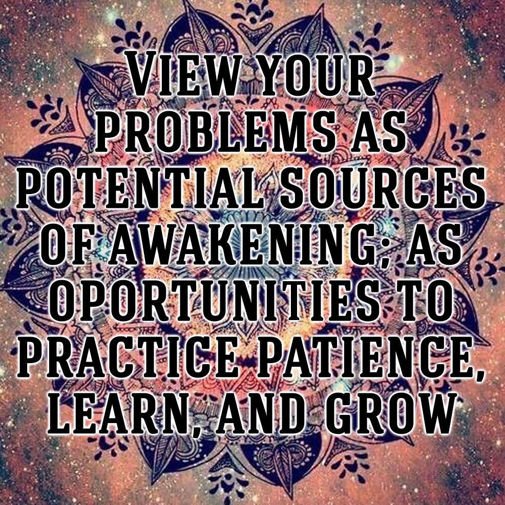 Religious Motivational Quotes Spiritual Quote View Your Problems As Potential Sources Of