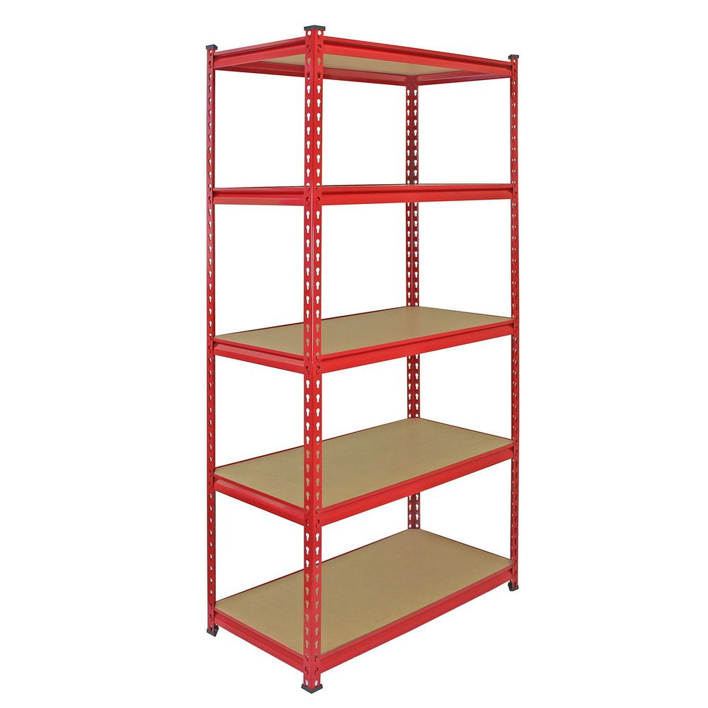 Diy Corner Shelves For Garage Or Pole Barn Storage: Details About Garage Shelves Shelving 5 Tier Unit Racking