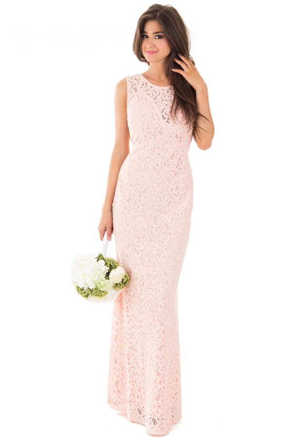 Lime Lush Boutique - Blush Sleeveless Crochet Maxi Dress, $38.95 (https://www.limelush.com/blush-sleeveless-crochet-maxi-dress/)