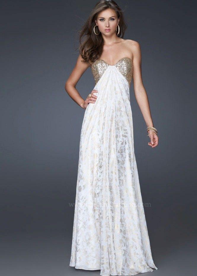 La Femme 15991 Strapless Evening Gown   Prom   Pinterest