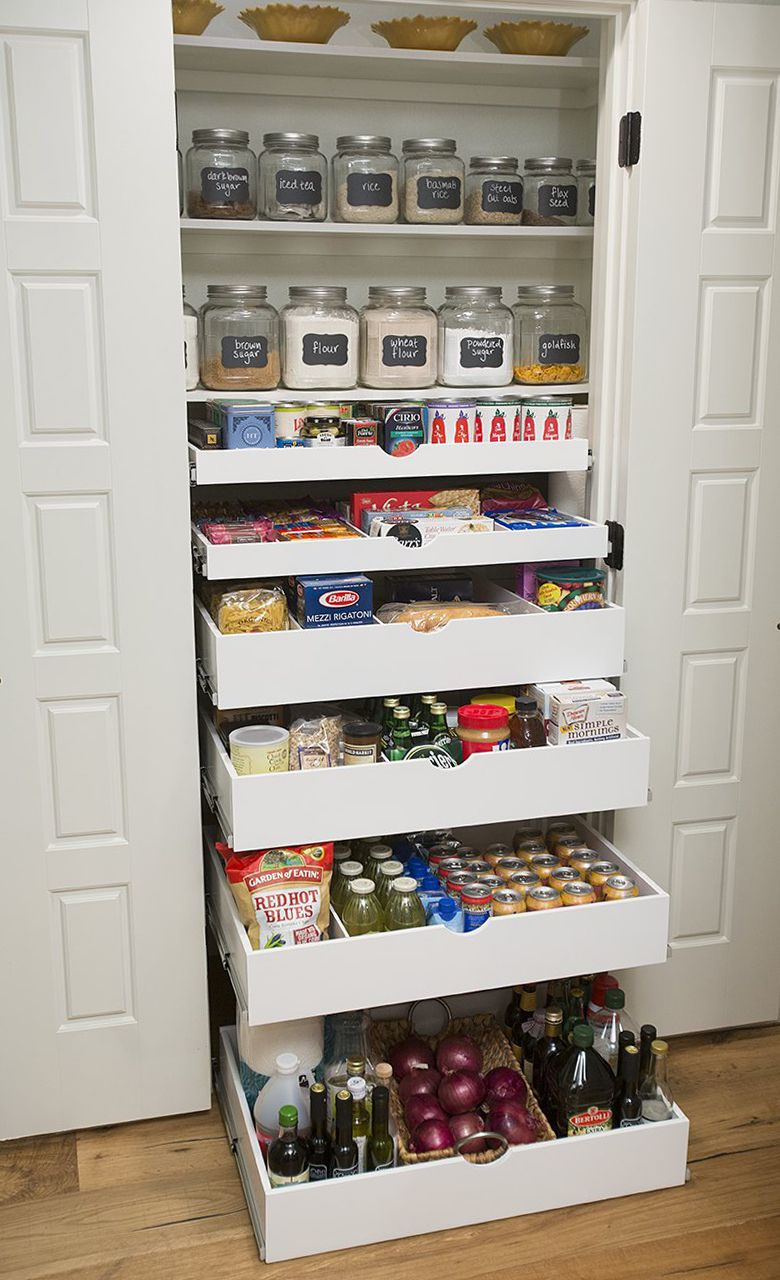 Shelfgenie Pull Out Shelves Will Neatly Organize All Of