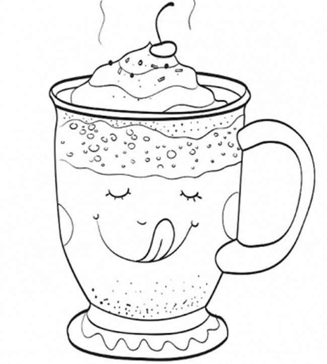 christmas printable hot chocolate