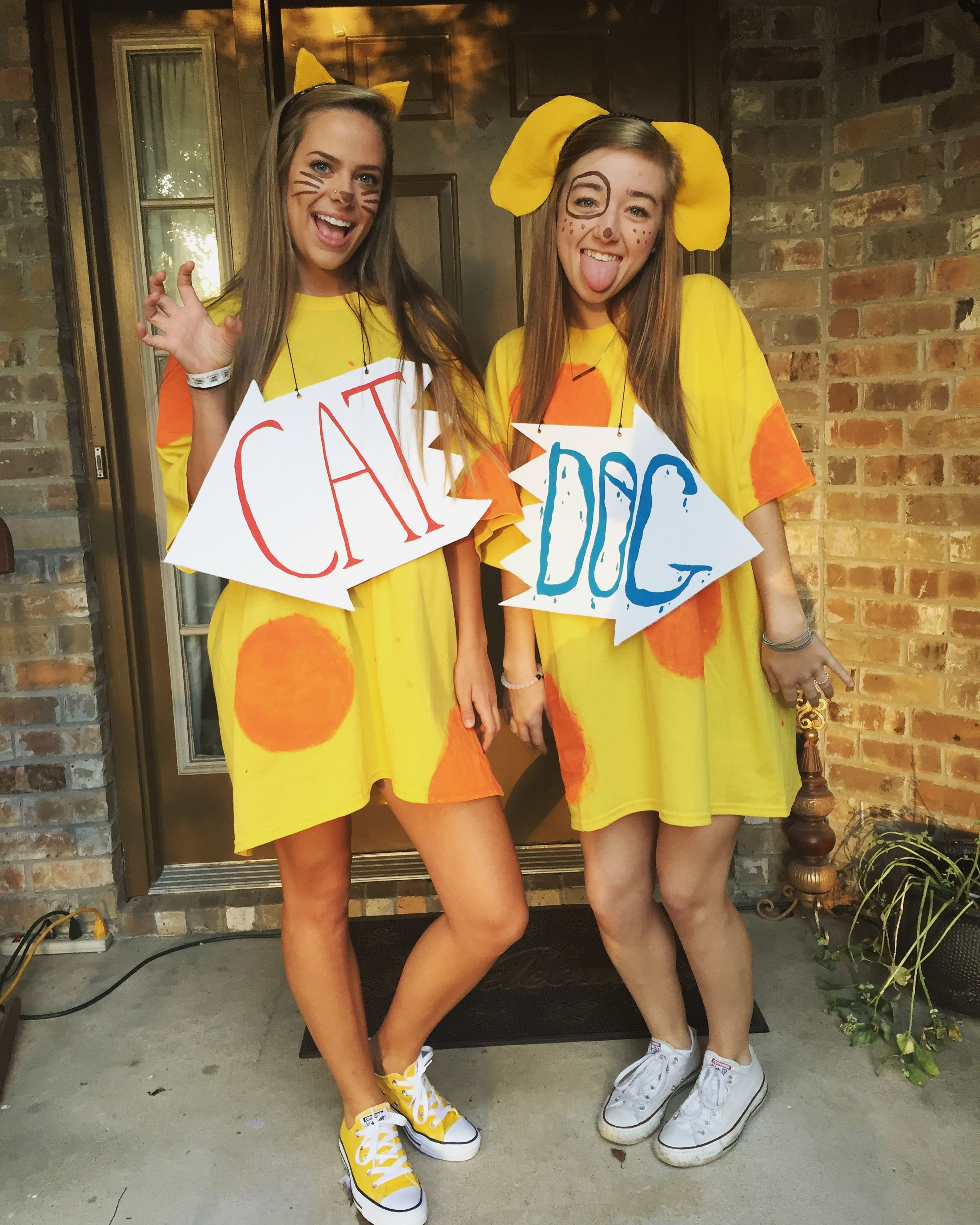 Cat Dog Costume Matching Halloween Costumes Duo Halloween