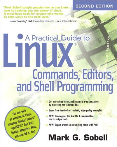 A Practical Guide To Linux Commands Editors And Shell