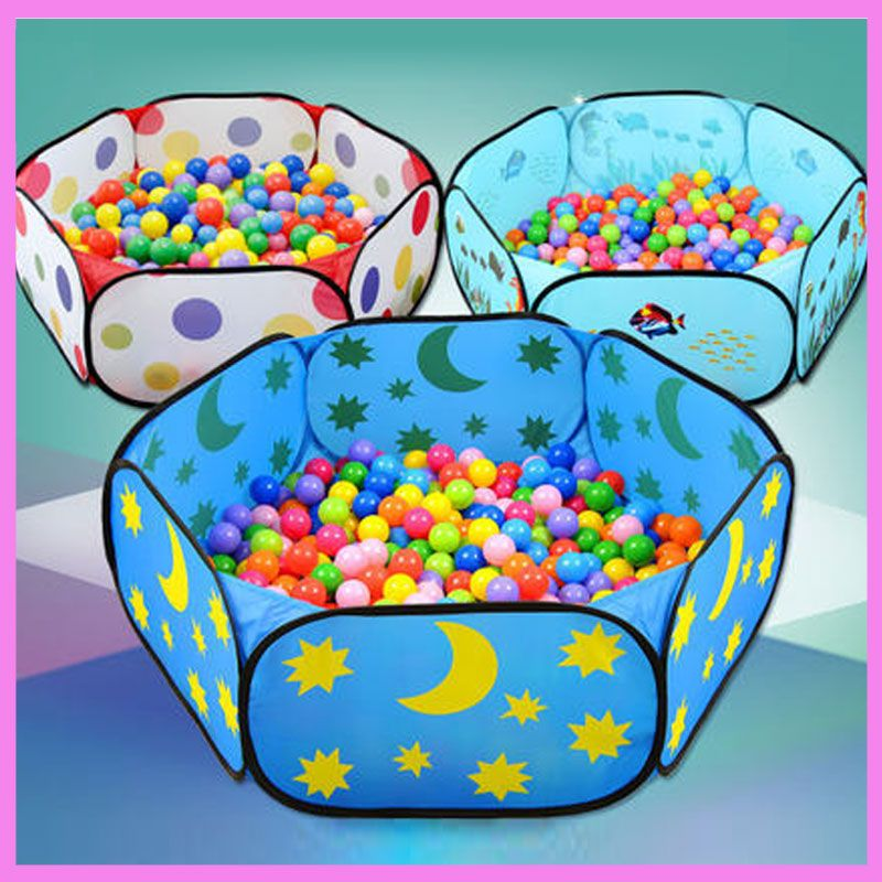 Click To Buy Baby Ocean Ball Pool Wave Pool Folding Thickening Fence Indoor Playpen Bal Educational Baby Toys Educational Toys Childrens Educational Toys