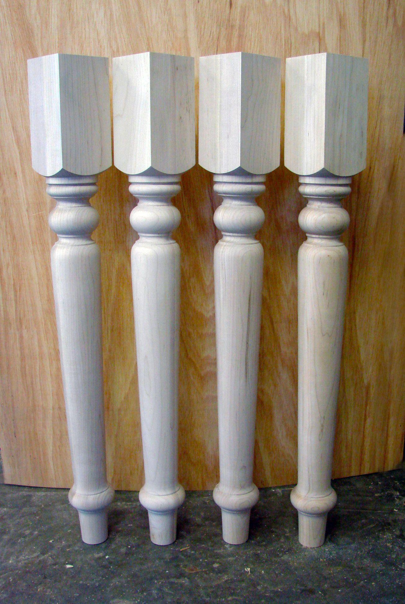 Colorado Pattern Table Legs 4 Quot X 36 Quot Maple Table