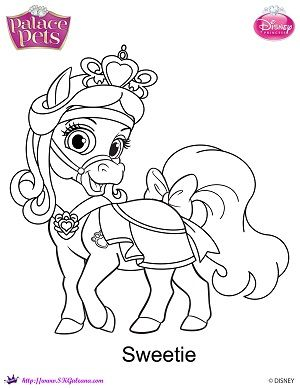 palace pets coloring pages google search - Princess Palace Pets Coloring Pages