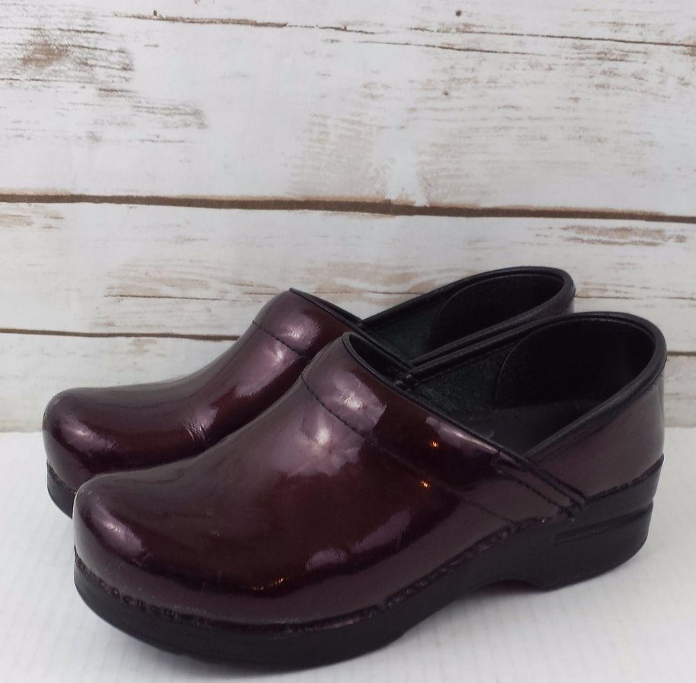 Dansko Pro Wine Wine Pro Sparkle Clogs Professional scarpe Size 37 US 6.5 7   6f6ede