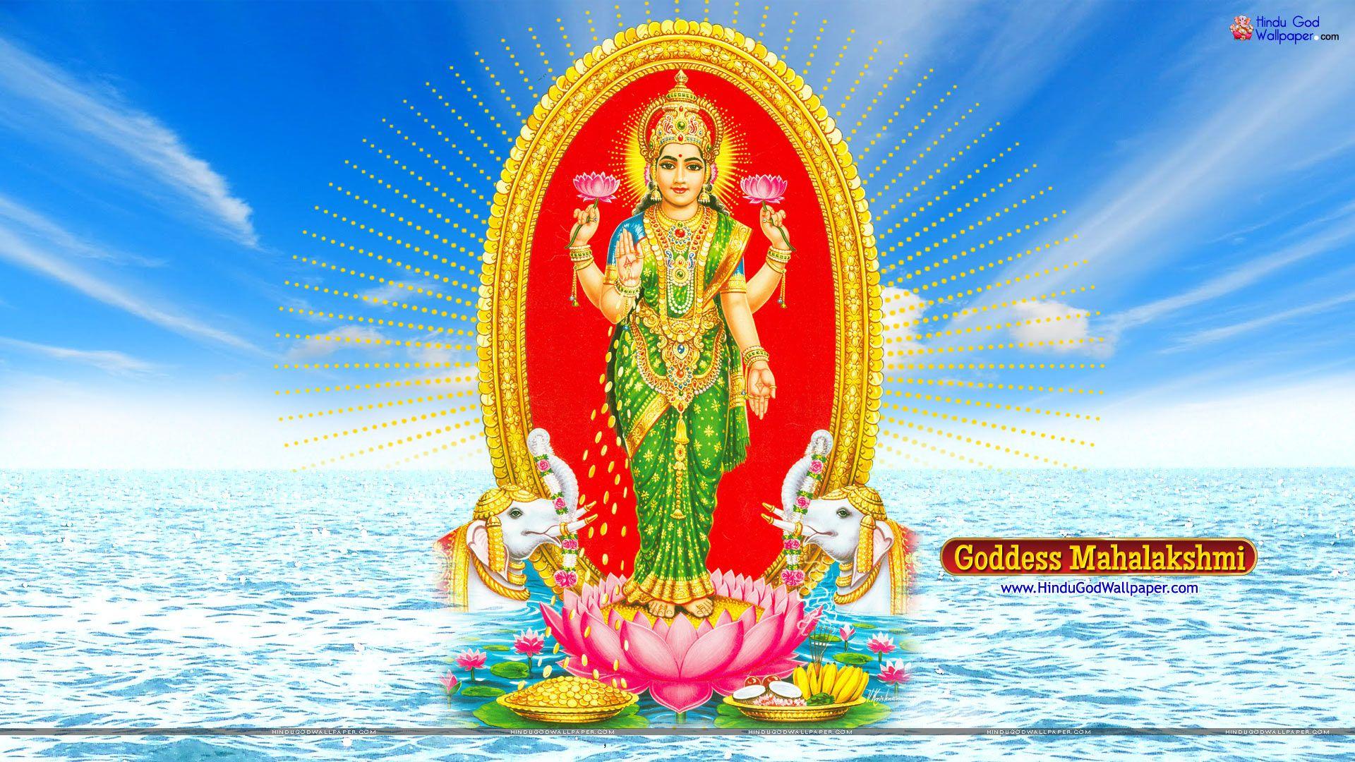 Mahalakshmi HD Wallpapers Free Download | Maa Laxmi
