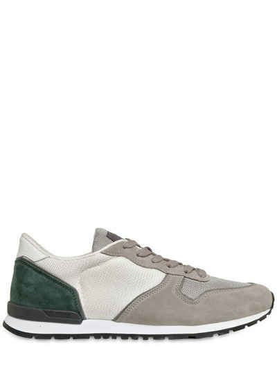 Suede And Mesh Sneakers Tod's cauP9