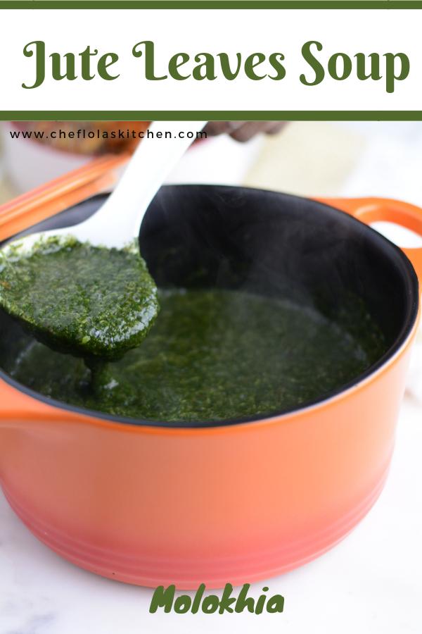 Jute Leaves Soup Ewedu Mulukhiyah Or Molokhia Recipe Delicious Soup African Food Homemade Soup