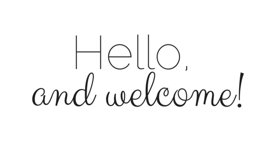 Image result for hello and welcome