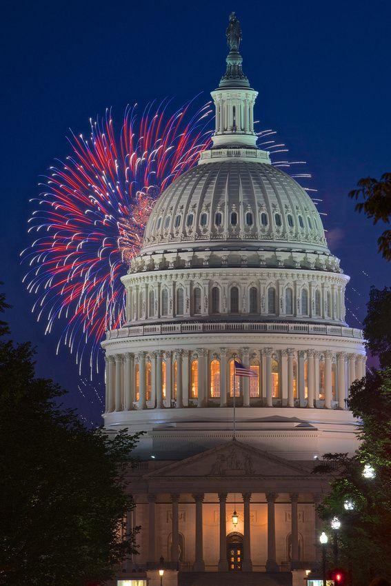 Capitol dome in Washington, DC