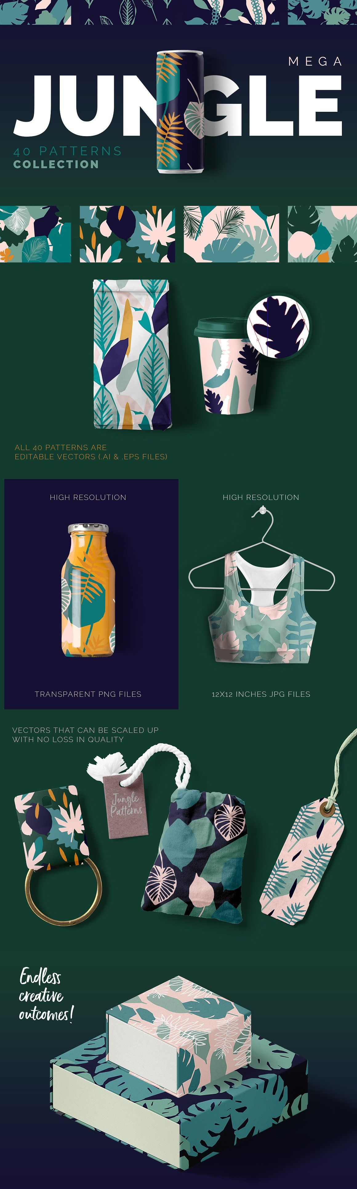 Jungle Patterns Collection (promoted) #junglepattern