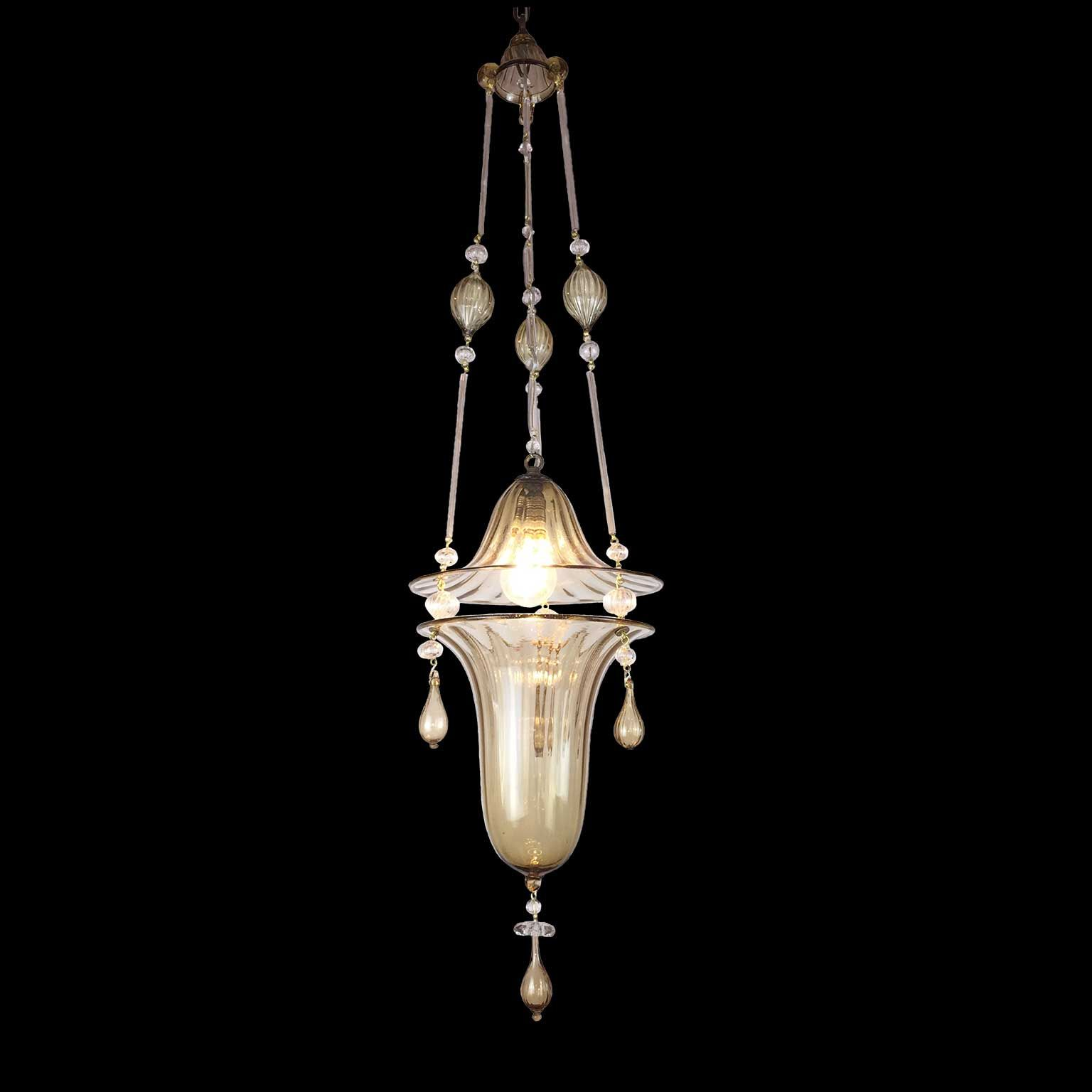 Lampadario in Vetro di Murano Lampadario in vetro