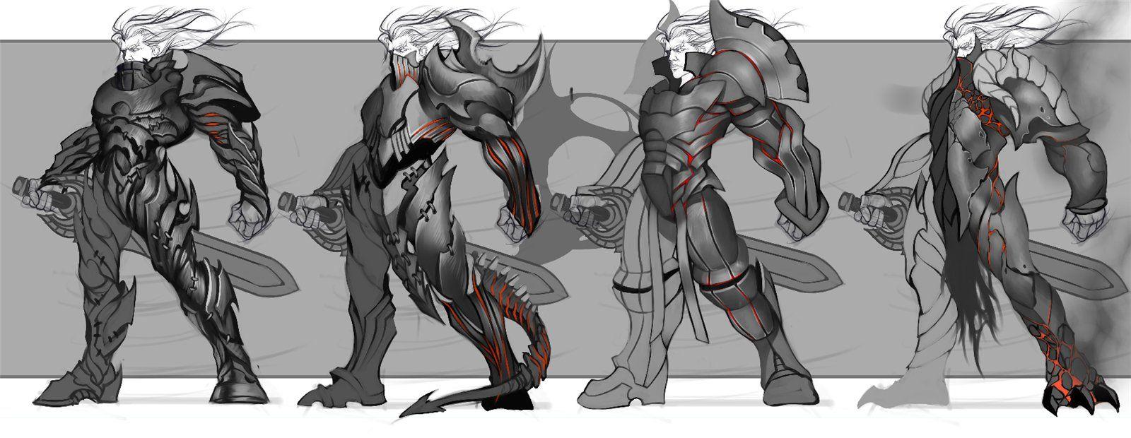 Game Character Design Tutorial : Resultado de imagem para concept art tutorial character