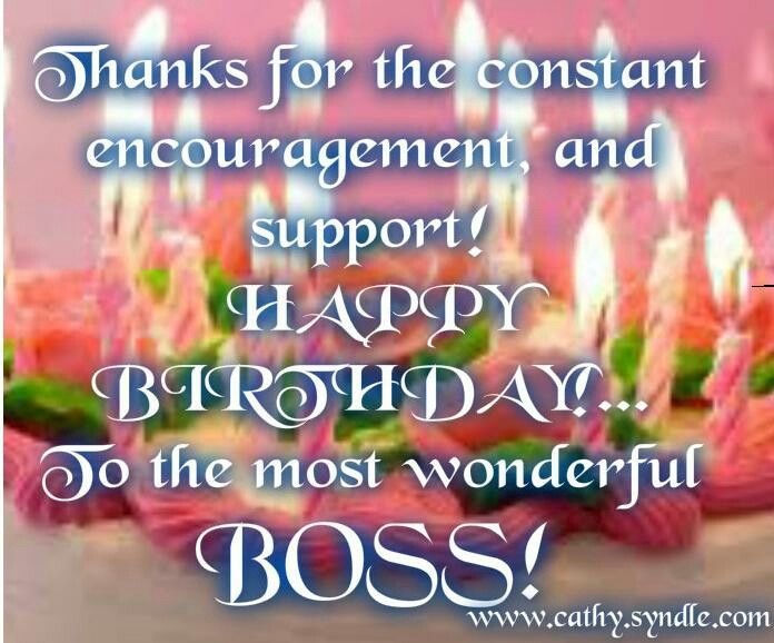 Birthday wishes for boss thanks for the constant encouragement and boss birthday greetings message greeting cards quotes ideas wallpaper happy best wishes for images m4hsunfo