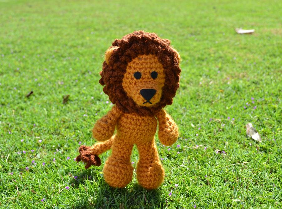 Amigurumi Lion Free Pattern : Griffin the lion amigurumi by miahandcrafter on deviantart