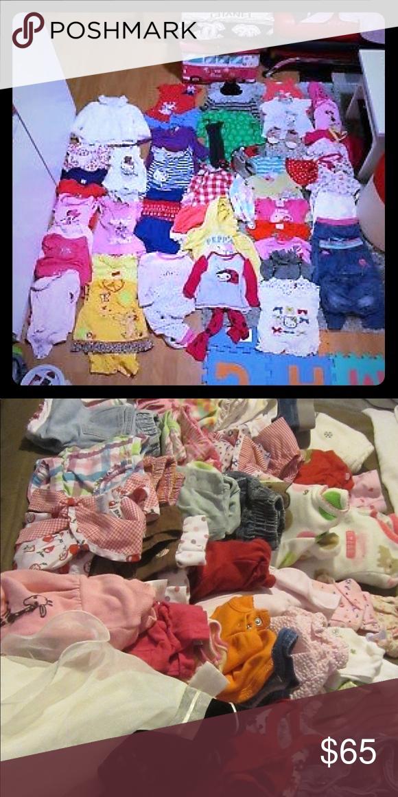 9aa6391fa Baby girl clothing bundle - Size 0-24 months-EUC - Baby girl ...