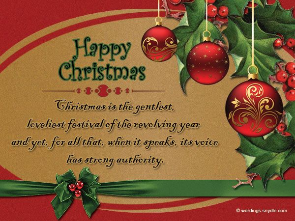 Christmas Messages for Employees Christmas messages, Messages - christmas greetings sample