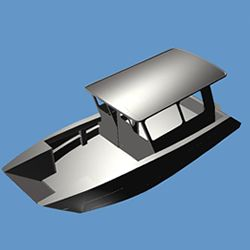 22 Ft Landing Craft Cope Aluminum Boat Designs Boat Pinterest